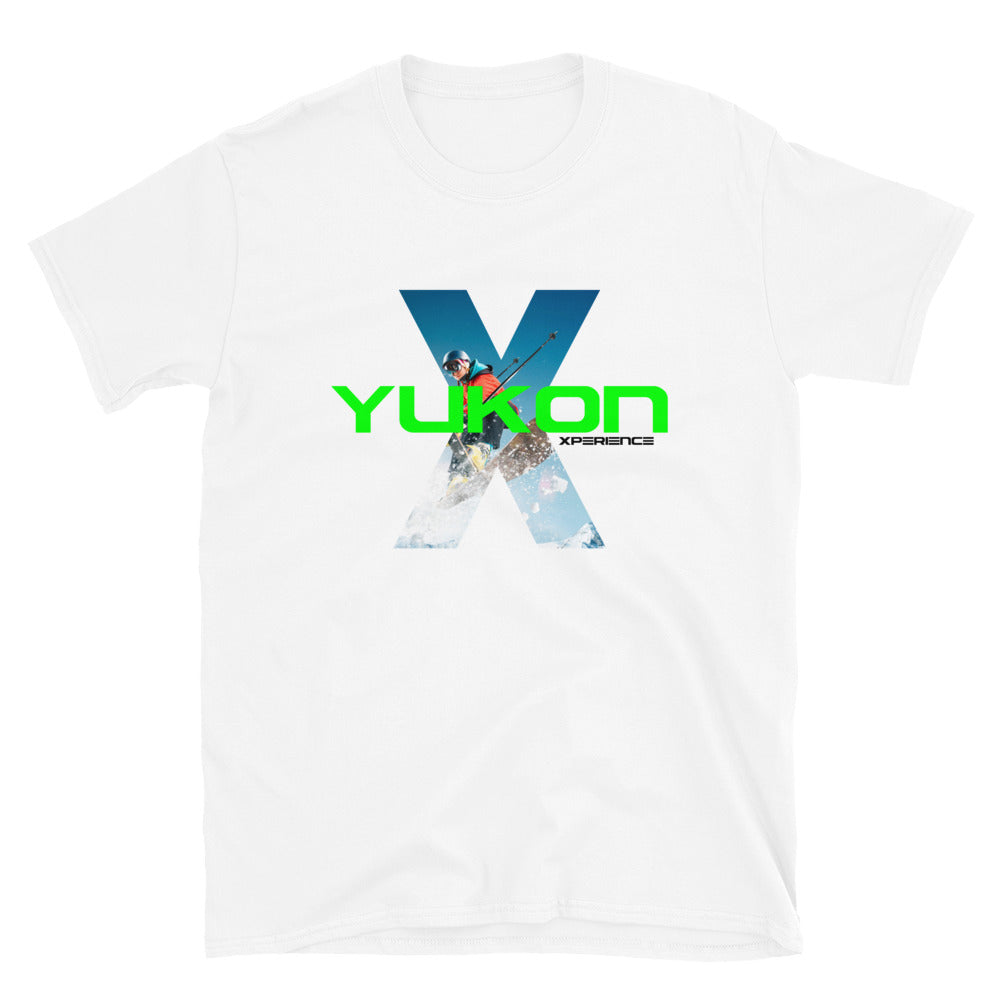 Yukon Xperience Skier Picture Short-Sleeve T-Shirt