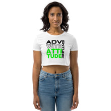 Load image into Gallery viewer, Adventure with Attitude Organic Crop Top