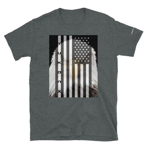 YukonX American Flag and Eagle Short-Sleeve T-Shirt