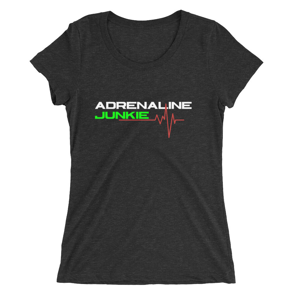 Adrenaline Junkie Ladies' short sleeve t-shirt