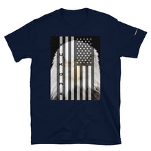 Load image into Gallery viewer, YukonX American Flag and Eagle Short-Sleeve T-Shirt