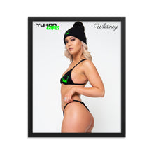 Load image into Gallery viewer, Yukon Girl Whitney Framed Poster