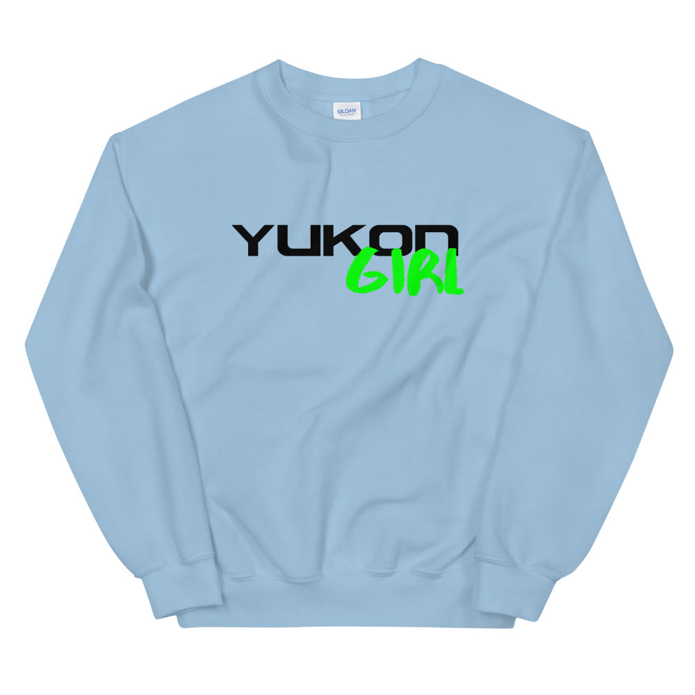 Yukon Girl Text Sweatshirt