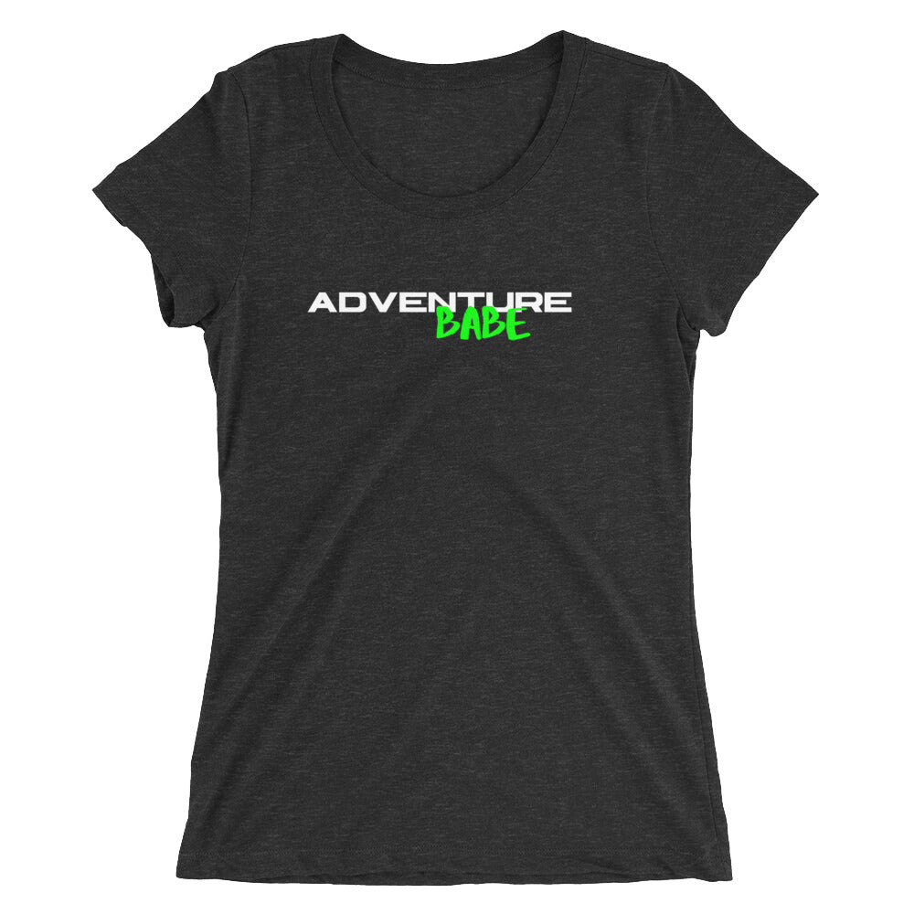 Adventure Babe Ladies' short sleeve t-shirt