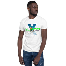 Load image into Gallery viewer, Yukon Xperience Skier Picture Short-Sleeve T-Shirt