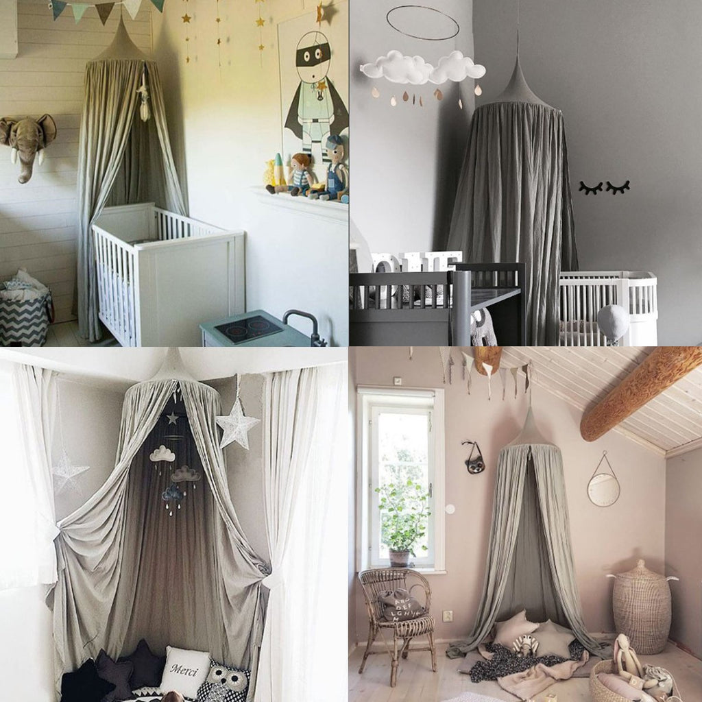 Child's Modern Bedroom Canopy