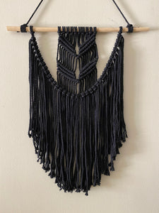 Black Mini Wall Hanging