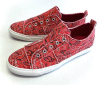 My Red Bandana Babalu Shoes
