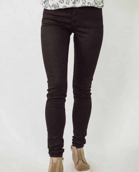 KanCan Black High Rise Ankle Skinny Jeans - SunPorch Boutique