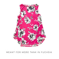 Meant For More Tank in Fuchsia