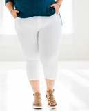 Quintessential Spring Jeggings in White