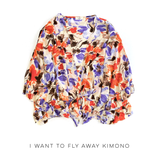 I Want to Fly Away Kimono