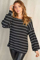 Living in Stripes Top
