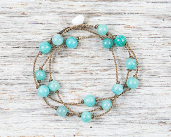 Tula Amazonite Wrap 22.5""