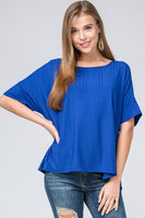Better Than Ever Top in Blue