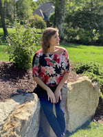 Falling in Love Dolman Top - SunPorch Boutique