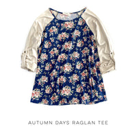 Autumn Days Raglan Tee - SunPorch Boutique