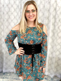 Lace Me Up Corset Dress - SunPorch Boutique