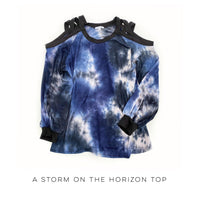 A Storm on the Horizon Top - SunPorch Boutique
