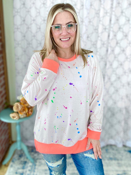 The Sprinkled Fun Top - SunPorch Boutique