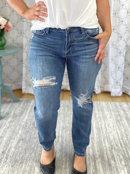 Judy Blue slim fit jeans.