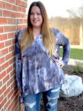 A Winter Storm Blouse - SunPorch Boutique