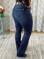 Back view of Judy Blue bootcut jeans.
