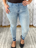 A Walk On The Beach Judy Blue Skinny Jeans