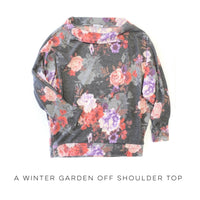 A Winter Garden Off Shoulder Top - SunPorch Boutique