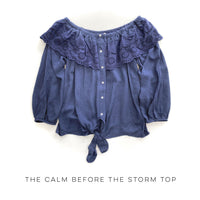 The Calm Before the Storm Top - SunPorch Boutique