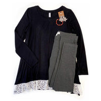 My Perfect Ponte Pants in Charcoal - SunPorch Boutique