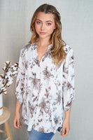 A Fresh Start Floral Blouse