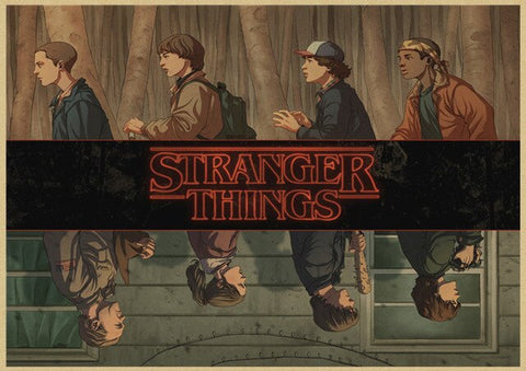Affiche Stranger Things® Upside Down