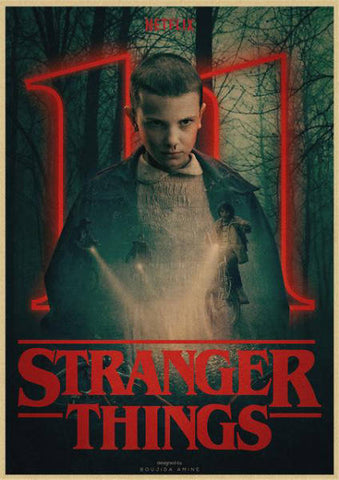 Affiche Stranger Things® Eleven
