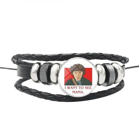 "Bracelet Stranger Things® ""I Want To See Mama"""