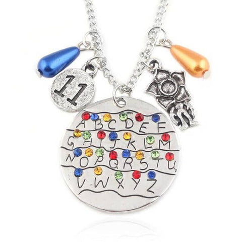Collier Stranger Things® Alphabet