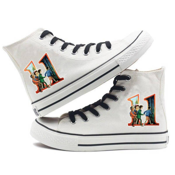 chaussures converse stranger things