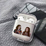 Coque AirPods Stranger Things® Eleven & Max