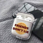 Coque AirPods Stranger Things® Friends Don't Lie
