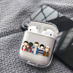 Coque AirPods Stranger Things® Groupe Saison 2