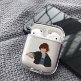 Coque AirPods Stranger Things® Jane Hopper