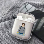 Coque AirPods Stranger Things® Steve Harrington