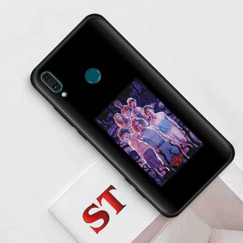 Coque Huawei Stranger Things® Personnages Saison 3