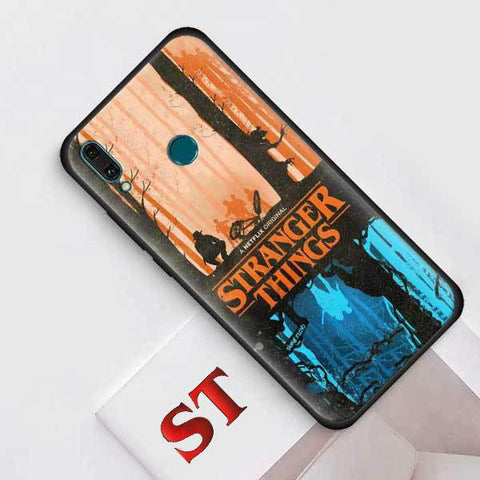 Coque Huawei Stranger Things® Upside Down
