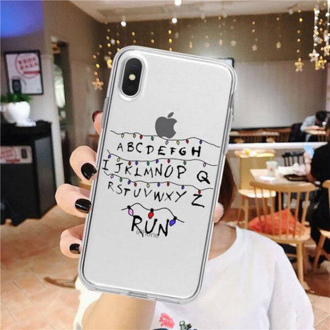 Coque iPhone Stranger Things® Alphabet Run
