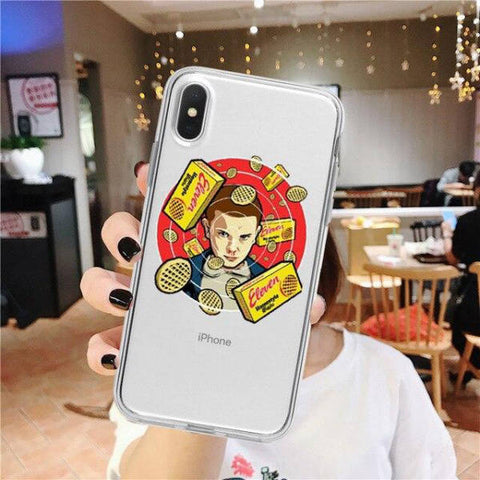 Coque iPhone Stranger Things® Eggos