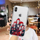 Coque iPhone Stranger Things® Personnages Saison 3