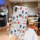 Coque iPhone Stranger Things® Stickers