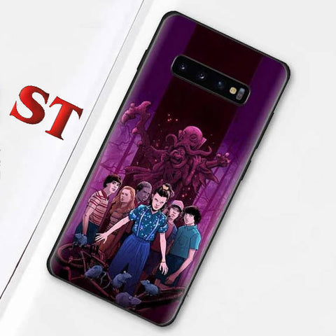 Coque Samsung Stranger Things® Groupe Enfants
