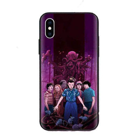 Coque Stranger Things® Groupe Enfants